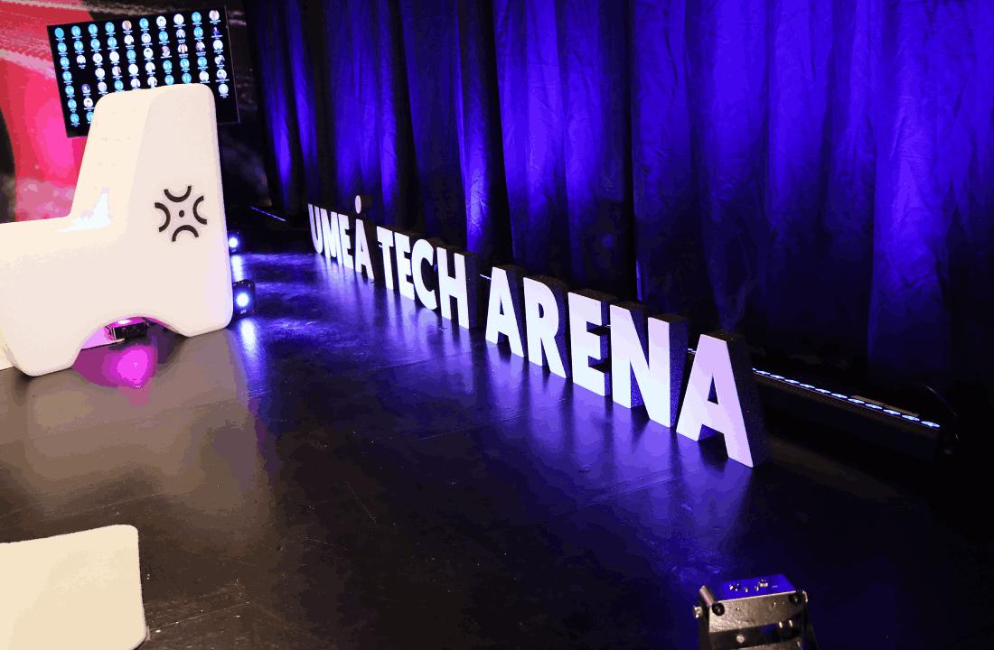 Umeå Tech arena kulturhuset i Umeå